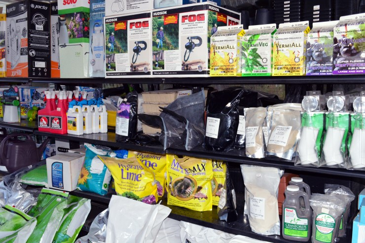 garening supplies and products